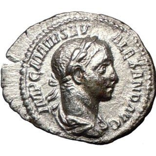 SEVERUS ALEXANDER 225AD Authentic Ancient Silver Roman