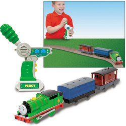 Thomas and Friends TrackMaster R/C   Percy Toys & Games