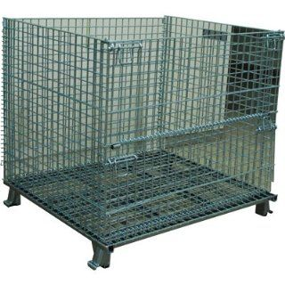 Atlas Collapsible Wire Mesh Extra Large Basket   4000 Lb. Capacity