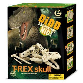 Geo World ED236K Dino T Rex Skull Excavation Kit: Toys