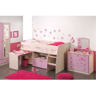 CHLOE Chambre fille rose   Achat / Vente CHAMBRE COMPLETE BEBE CHLOE