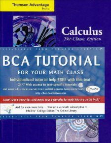 Thomson Advantage Books Calculus The Classic Edition (with BCA