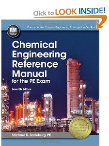 Chemical Engineering Reference Manual for he PE Exam Michael R
