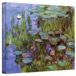 Claude Monet Sea Roses Gallery Wrapped Canvas Today $44.99 Sale $