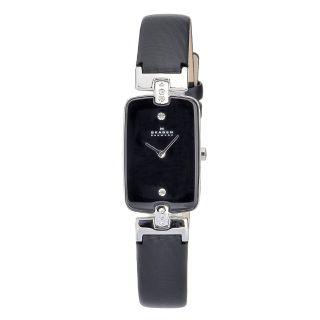 Skagen Womens Hiromichi Konno Black Dial Watch