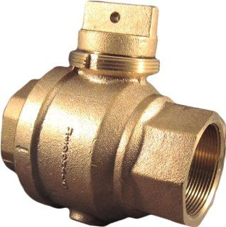 AY McDonald 2 6005 Series Stop and Waste Valve with Threaded Top