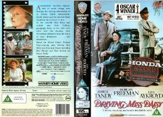 Driving Miss Daisy [VHS] Morgan Freeman, Jessica Tandy