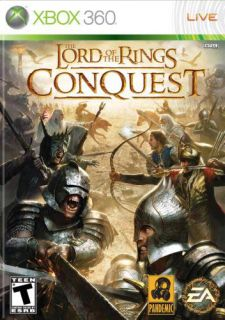 Xbox 360   The Lord of the Rings Conquest (Pre Played)