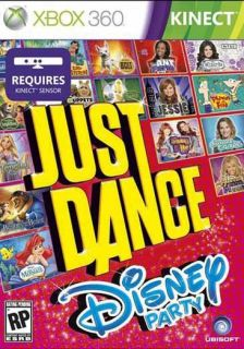 Xbox 360   Kinect Just Dance Disney Party