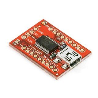 Breakout Board for FT232RL USB to Serial: Computers