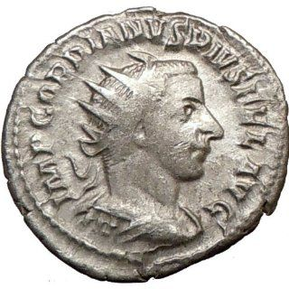 GORDIAN III 242AD Ancient Silver Roman Coin Everything