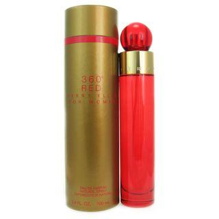 Perry Ellis 360 Red Womens 3.4 ounce Eau de Parfum Spray