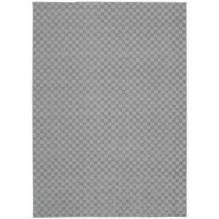 Living Necessities Grey Rug (5 x 7)