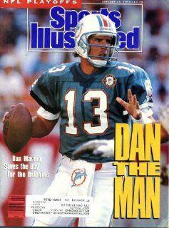 Sports Illustrated January 14 1991 Dan Marino/Miami Dolphins Cover