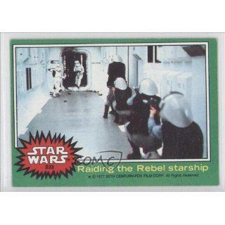 the Rebel starship (Trading Card) 1977 Star Wars #233