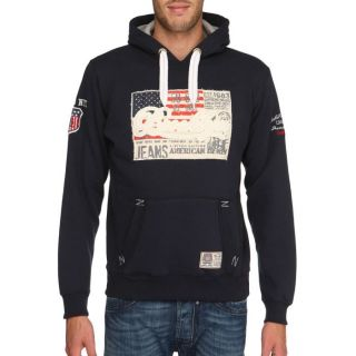 GANGSTER UNIT Sweat Francisco Homme Marine Marine   Achat / Vente