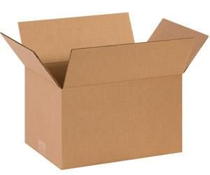 Corrugated 14x10x8 Shipping Boxes (Case of 25)