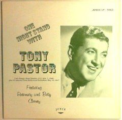 One Night Stand with Tony Pastor Books