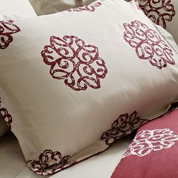 Milena Reversible 3 piece King size Duvet Cover Set