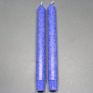 Pair of 9 Indigo Chakra Taper Candles, Aloha Bay, Color