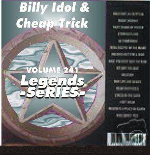 Trick & Billy Idol Karaoke 16 Song CD+G Legends #241 Legends Music