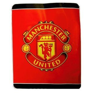 MANCHESTER UNITED OFFICIAL QUEEN SIZE BLANKET Sports