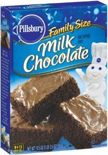 Pillsbury Milk Chocolate Brownie Mix, 19.5 Ounce Boxes (Pack of 12
