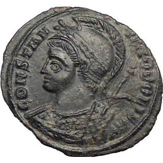Constantine I the Great 334AD Ancient Roman Coin Constantinople