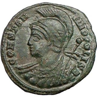 CONSTANTINE I the Great Founds CONSTANTINOPLE 334AD Ancient Roman Coin