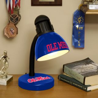 Ole Miss Runnin Rebels Desk Lamp