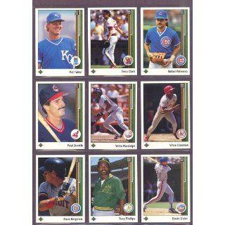 1989 Upper Deck #235 Rafael Palmeiro Cubs (Mint