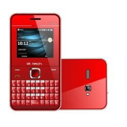 dr. Tech IP88 Dual SIM Unlocked Red Cell Phone with Micro 4GB Memory