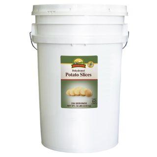 Augason Farms 6 Gallon Gluten Free Potato Slice Pail Today $40.49 4.7
