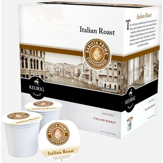 Barista Prima Italian Roast Coffee K Cups for Keurig Brewers (Case of