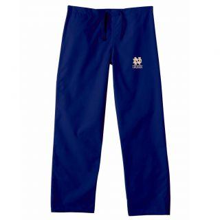 Gelscrub Unisex Navy Notre Dame Irish Scrub Pants