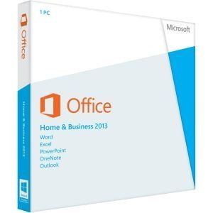 Microsoft Office Home & Business 2013 Key Card 1PC/1User