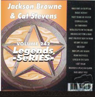 Stevens & Jackson Browne Karaoke CD+G   Legends #242: Legends: Music