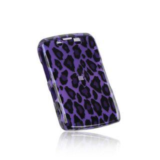 Purple Leopard BlackBerry Storm II 9550 Protector Case