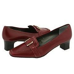 Vaneli Rhesus Dark Red Nappa Pumps/Heels