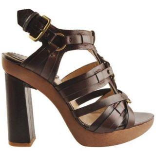 Womens Joan & David Sweetlyn Dark Brown Leather