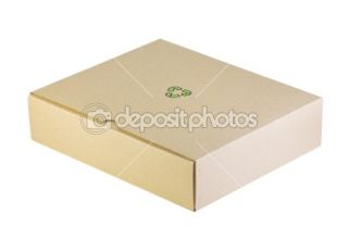 Closed cardboard box  Stock Photo © oleg doroshin #1341876