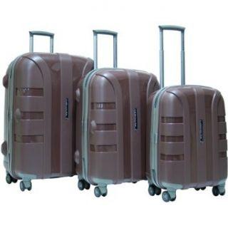 Rapture 3 Piece Hardside Luggage Set Color Coffee
