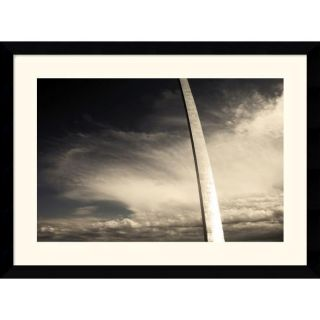 Andy Magee Gateway Arch (Sepia) Framed Photo Art