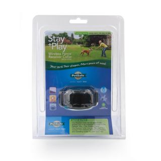 Pet Safe Stay & Play Wireless Fence Receiver Collar (BONUS Extra Red
