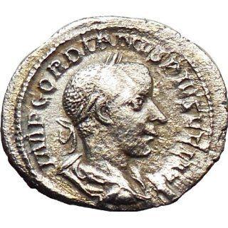 GORDIAN III 238AD Ancient Silver Denarius Rare Roman Coin