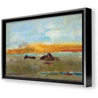 Bellows Old Barn II Framed Canvas Art