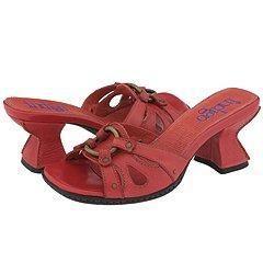 Indigo by Clarks Hearts Poppy Red Leather