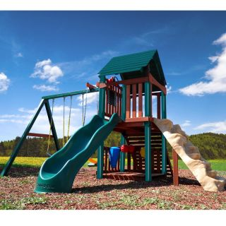 Summerville Fort Wood Complete Play Set