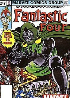 Fantastic Four (1961 series) #247 TOY INSERT Marvel