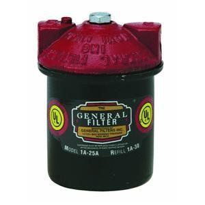 General Filters 1A 25A Fuel Oil Filters and Replacement Cartridge